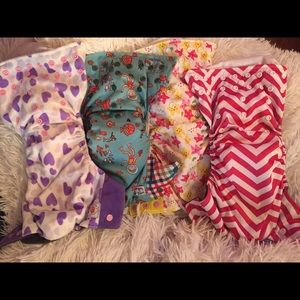 Happy Flute and Bottoms up cloth diapers EUC
